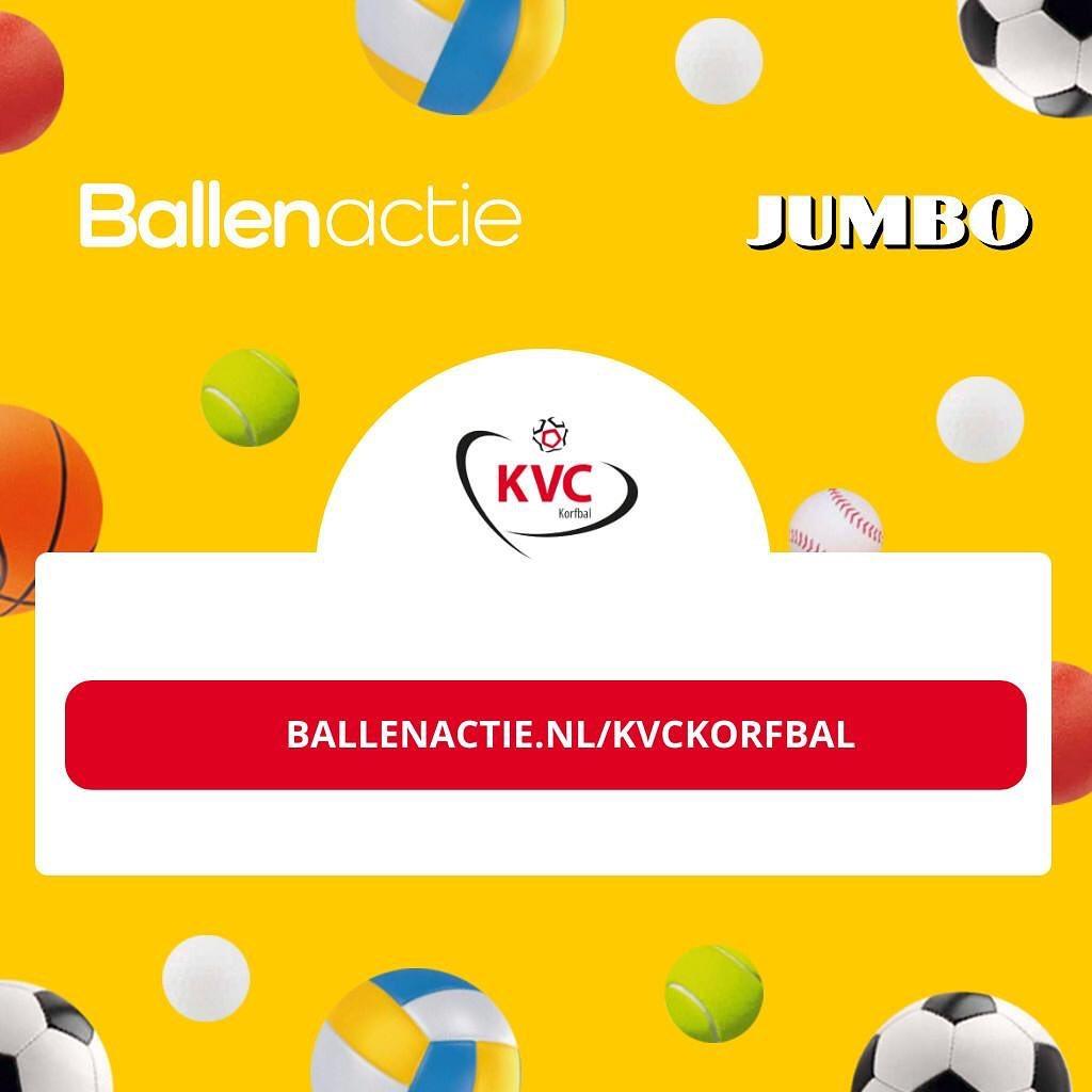 Ballenactie KVC i.s.m Jumbo